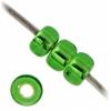 Miyuki Seed Bead 8/0 Green Silver Lined